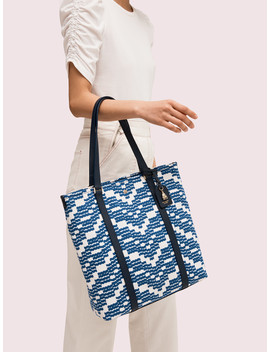 On Purpose Canvas North South Tote by Kate Spade