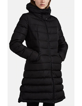 Flammette Down Zip Front Coat by Moncler