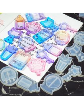 New Arrival Shaker Molds Milk Bottle Uv Resin Epoxy Mold Magic Wand Oil Syringe Craft Tools by Ali Express.Com