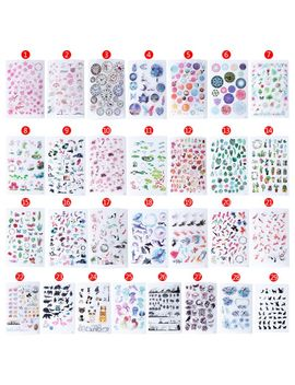 Uv Resin Epoxy Resin Crafts Materials Filler Sticker Floral Colorful Translucent Crystal Animal Landscape Jewelry Making Tools by Ali Express.Com