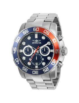 Invicta Men's 50mm Pro Diver Quartz Chronograph Date Bracelet Watch by Shop Hq
