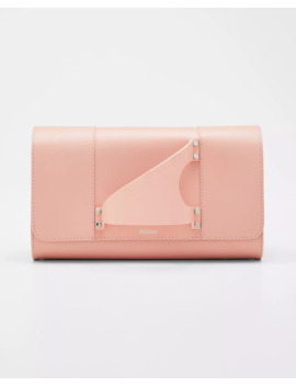 L'eiffel Leather Clutch Bag by Perrin Paris