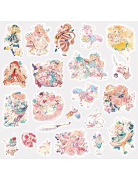 Cute Kawaii Cartoon Unicorn Princess Girl Sticker Package Decorative Stationery Stickers Scrapbooking Diy Diary Album Scrapbook by Ali Express.Com