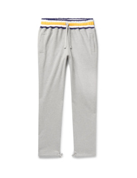 Mélange Loopback Cotton Jersey Sweatpants by Aimé Leon Dore