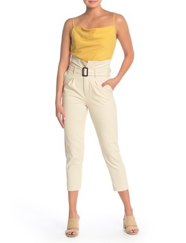 High Waisted Chino Pants by Blu Pepper