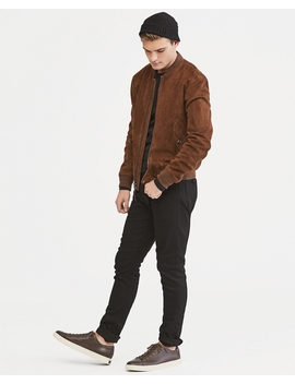 Suede Bomber Jacket by Ralph Lauren