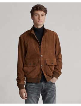 Suede Skeet Jacket by Ralph Lauren