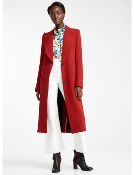 Peaked Lapel Coat by Smythe