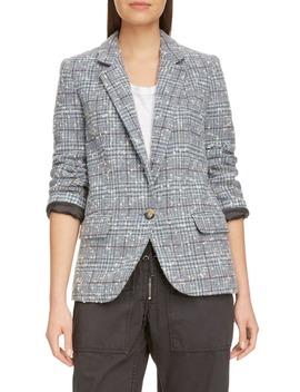 Kice Glen Plaid Wool Blend Blazer by Isabel Marant Étoile