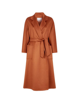 Long Cashmere Coat by Max Mara