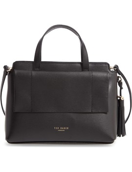 Tassel Leather Top Handle Bag by Ted Baker London