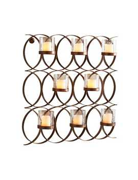 Intertwining Circles Multi Candle Wall Sconce by Pier1 Imports