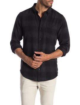 Compton Long Sleeve Woven Plaid Shirt by Ezekiel