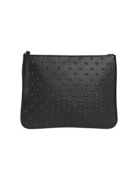 Editor's Studded Vegan Leather Pouch by Ela