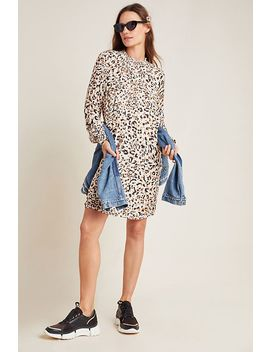 Cloth & Stone Leopard Smocked Tunic by Cloth & Stone