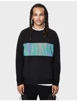 Sweatshirt With Reflective Strip by Bershka