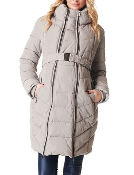 Lara Quilted Maternity Coat by Noppies