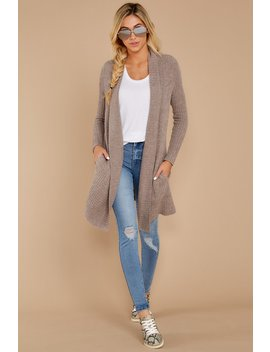 The Cozychic Lite® Driftwood Taupe Montecito Cardi by Barefoot Dreams