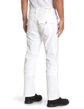 Ricky Relaxed Fit Jeans (Optic Stone) by True Religion