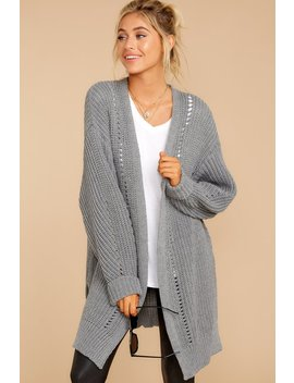 Comfort Basis Grey Cardigan by M2