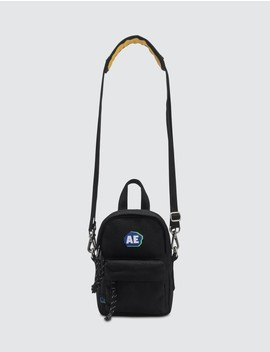 Embroidered Logo Mini Crossbody Bag by              Ader Error