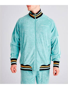 Men's Champion Terry Warm Up Jacket by Champion