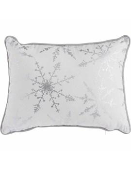 Wilko Snowflake Cushion 43 X 43cm Wilko Snowflake Cushion 43 X 43cm by Wilko