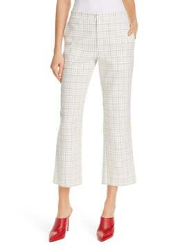 Dicra Crop Tweed Trousers by Joie