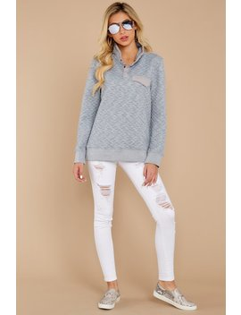 Looking For Comfort Heather Grey Pullover by Entro