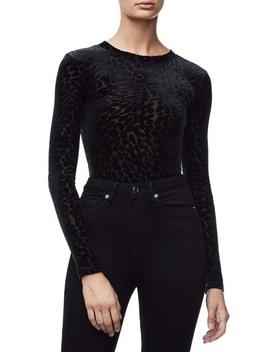 The Wilder One Bodysuit (Black 001) (Regular & Plus Size) by Good American