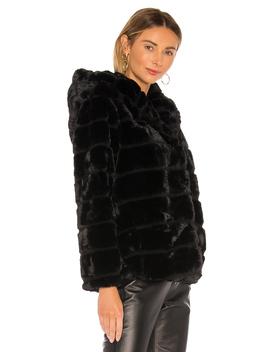 Goldie Faux Fur Jacket by Apparis