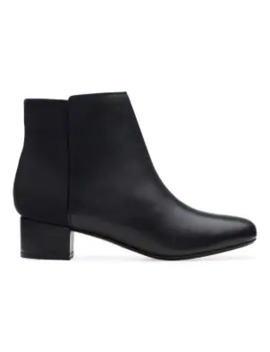 Chartli Valley Leather Booties by Collection By Clarks