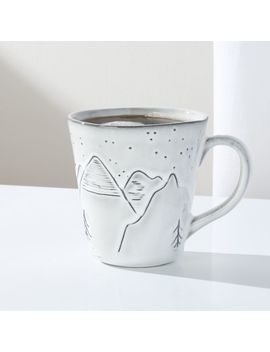 Mountain Mug by Crate&Barrel