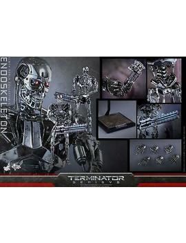 (Us) Hot Toys 1/6 Terminator Genisys Mms352 Endoskeleton Masterpiece Figure by Hot Toys