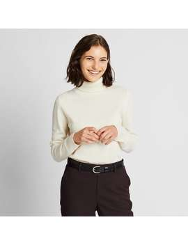 Cashmere Turtleneck Sweater by Uniqlo