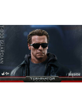 Hot Toys T 800 Guardian 1/6 Scale Figure Terminator Genisys Schwarzenegger New by Hot Toys