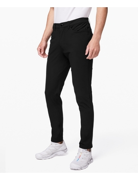 "Abc Pant Slim Warpstreme 32""New by Lululemon"