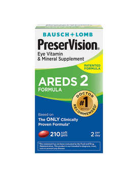 Preser Vision Areds 2 Formula, 210 Soft Gels by Costco