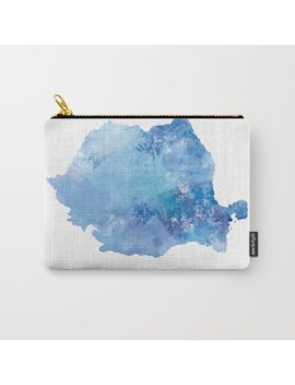 Romania Carry All Pouch by Society6