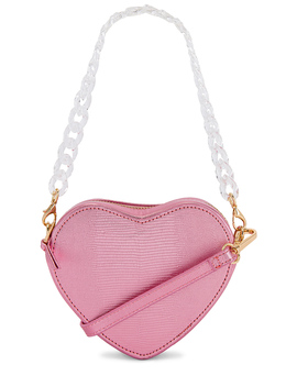 Mini Ava Heart Bag by Lpa