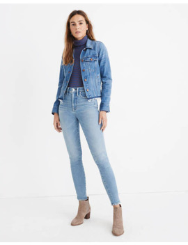 """tall-10""""-high-rise-skinny-jeans-in-hamden-wash by madewell"""