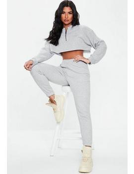 Lilac Basic Slim Leg Joggers by Missguided