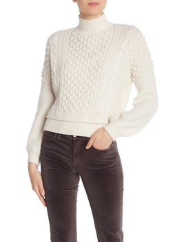 Turtleneck Wool Blend Sweater by Frame Denim