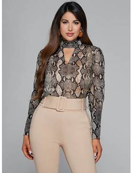 Untamed Silk Blouse by Guess
