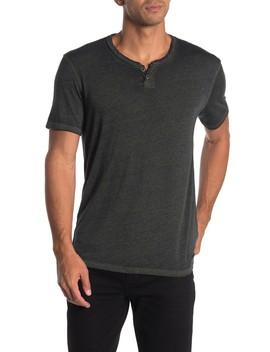 Cross Dye Notch T Shirt by Lucky Brand
