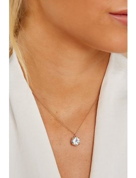 Keep On Dazzling Clear Crystal Necklace by Joia