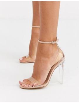 Aldo Aserania Lucite Heel Sandal by Aldo