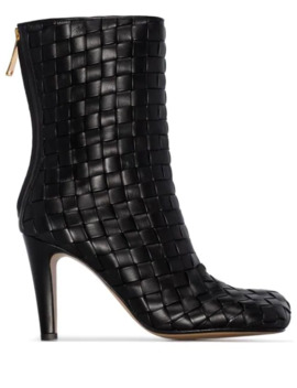 Intrecciato 90mm Ankle Boots by Bottega Veneta