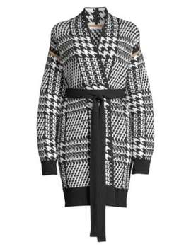 Malizia Long Belted Wool & Cashmere Cardigan by Max Mara