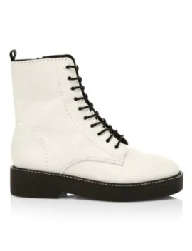 Mc Kenzie Leather Combat Boots by Schutz